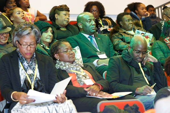 Cross-section of audience. Photo courtesy CaribDirect