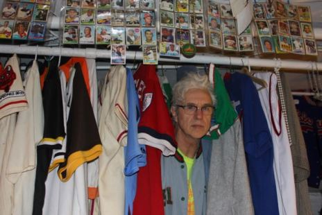 David Henry Sterry's Baseball Mancave
