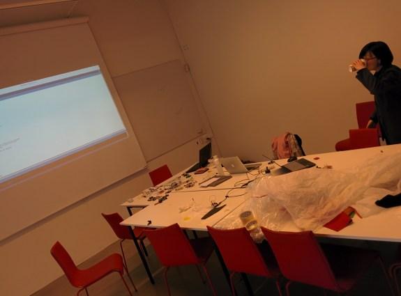 Workshop in progress...