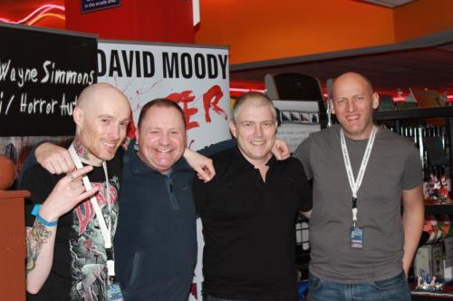 Wayne, Gary, Roy and me