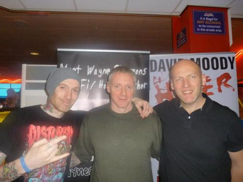 Wayne, Shaun Jeffrey and me