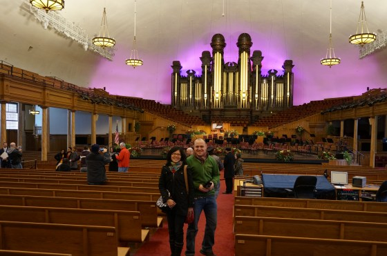 inside the Mormon Tabernacle