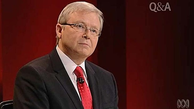 Mr Rudd, what exactly is the New Testament all about?