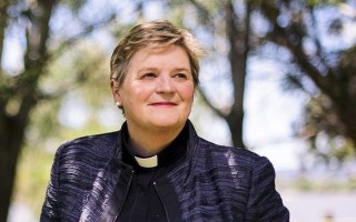 Australia's First Female Diocesan Bishop – we should ordain homosexuals and the Cross does not save
