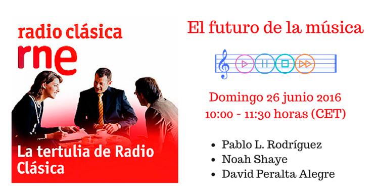 La tertulia de radio clásica: el futuro de la música