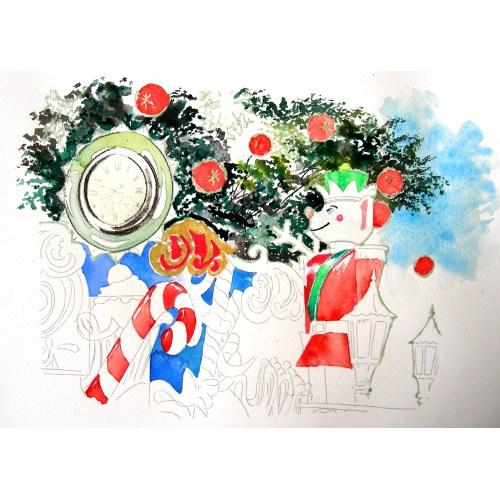 Medium Crop Of Watercolor Christmas Cards