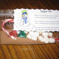 FREE Snowman Soup Poem Printable