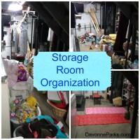 Storage Room Declutter