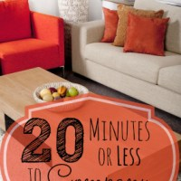 How to Fake a Clean House in Less than 20 Minutes