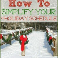 How To Simplify Your Holiday To-Do's