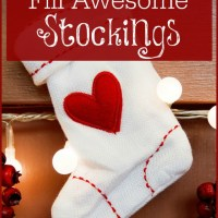How to Frugally Fill Awesome Stockings