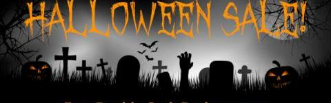 Halloween Sale- Earn Double Cash Back!!