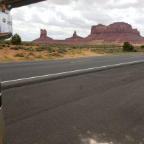 Lunch at Monument Valley in the way to Page