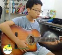 Nhận học đàn Guitar tại nhà