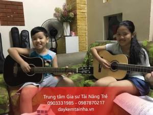 Nhận gia sư dạy đàn Guitar tại quận Tân Bình