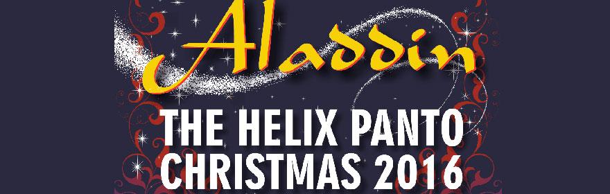 Helix Christmas Panto 2016 Aladdin