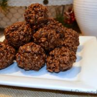 Reindeer Poop Cookies Made With Kellogg's Cocoa Krispies Cereal