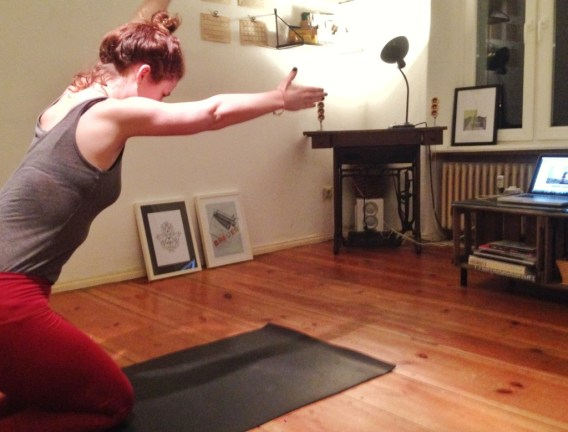 Pilates bei Yogaia - Schwimmer