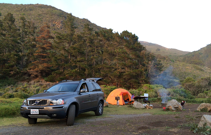 Campsite #20, Kirk Creek Campground, Big Sur