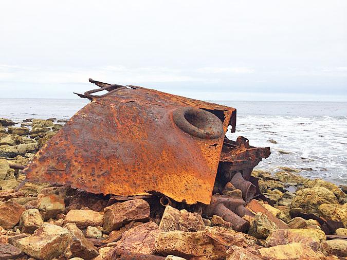 SS Dominator shipwreck, Palos Verdes Cove