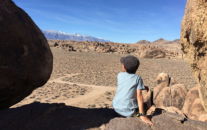 Alabama Hills overlook