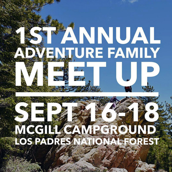 1st Annual Adventure Family Meet-up — Sept 16-18, 2016