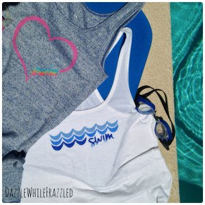 How to make your own custom swim shirts using freezer paper