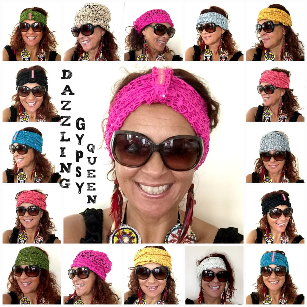 Headband - Beanie by Dazzling Gypsy Queen