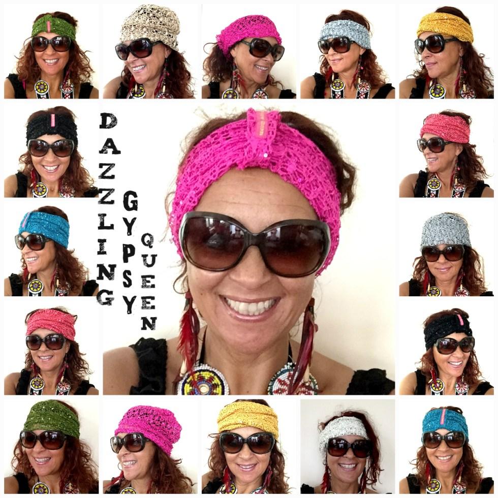 Headband - Beanie by Dazzling Gypsy Queen