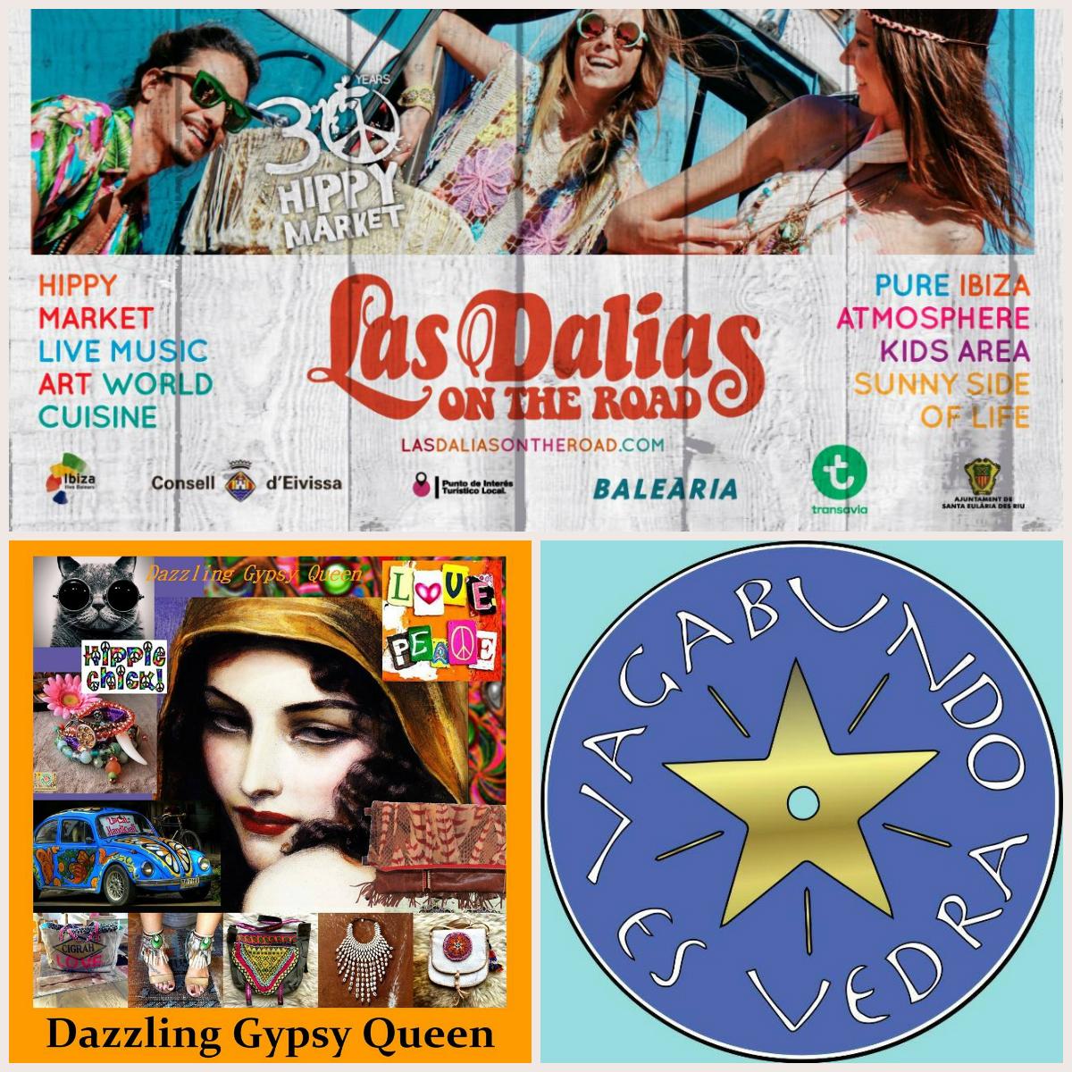 Dazzling Gypsy Queen & Vagabundo es Vedra @ La Dalias on the road 2016