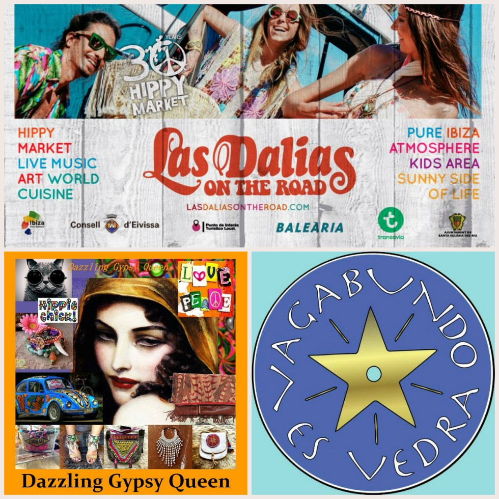 Dazzling Gypsy Queen & Vagabundo es Vedra @ La Dalias on the road 2016