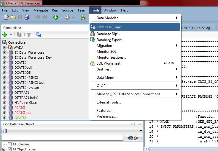 Sql developer database copy makes your db migration easy - Oracle sql developer copy table ...