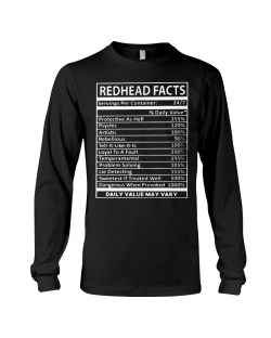 Encouragement Last Day To Order Redhead Facts Long Sleeve Tee Last Day To Order Redhead Facts Last Day To Order S Last Day To Order 2018 Mustang