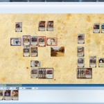 A Doomtown game in OCTGN in action. Currently in the middle of a shootout