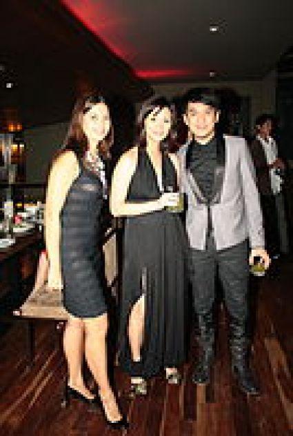 Lani Pasquet, Pauline Juan and Vince Uy