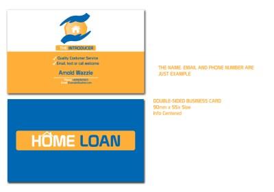 Modern, Upmarket, Loan Business Card Design for a Company by Professor P | Design #2990708
