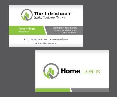 Modern, Upmarket, Loan Business Card Design for a Company by Esolbiz | Design #2993984