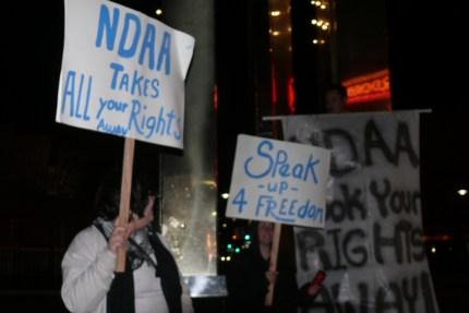 NDAA PROTEST  2/3/12