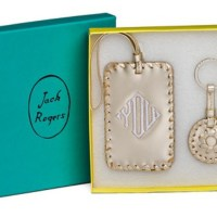monogram monday: jack rogers luggage tag