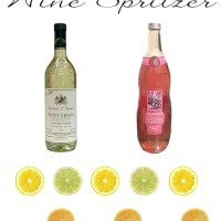 thirsty thursday: foolproof wine spritzer recipe