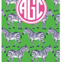 monogram monday: may day notebook + planner