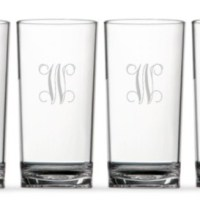 Monogram Monday: Design Darling Highball Glasses