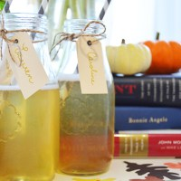 Thirsty Thursday: Apple Cider Mimosa