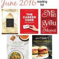 June 2016 Reading List