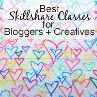 Best Skillshare Classes for Bloggers + Creatives