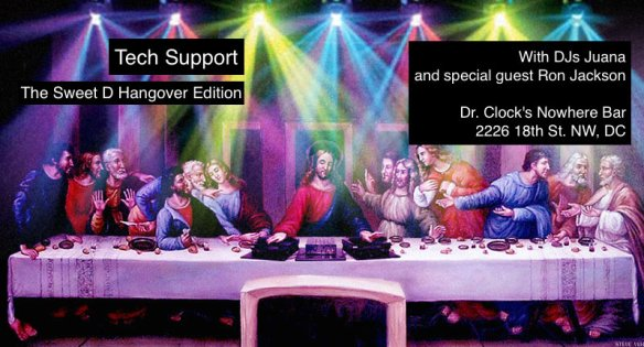 Tech Support: The Sweet D Hangover Edition at Dr. Clock's Nowhere Bar