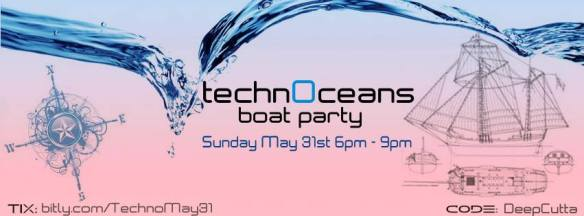 TechnOceans 2015 Grand Opening Pirate Boat Costume Party! on the Boomerang Pirate Ship