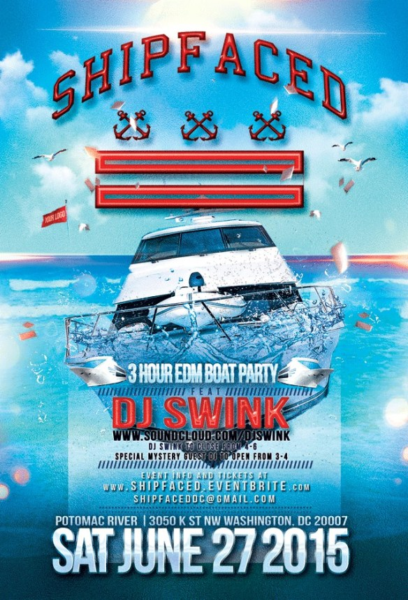 Shipfaced Launch Party with DJ Swink