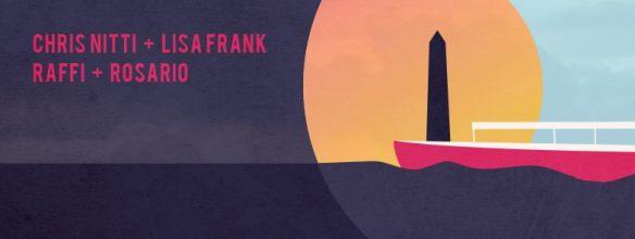 Soundwaves Boat Party Opening with Lisa Frank, Chris Nitti, Raffi & Rosario