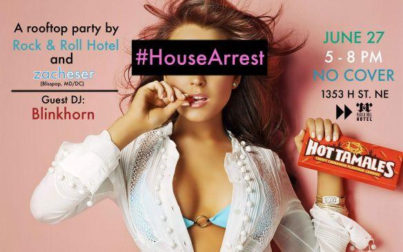 #HouseArrest Happy hwith zacheser & Blinkhorn on the Rock'n'Roll Hotel Rooftop